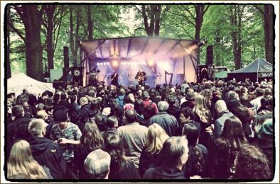 A live gig...