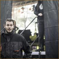 Soundguy Sascha / Backstage