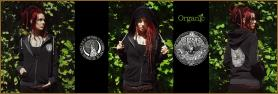 Raven Hoodie (Model: Spike Dearheart, wearing a size S)